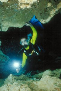 Morrison Springs Underwater Diver Photo